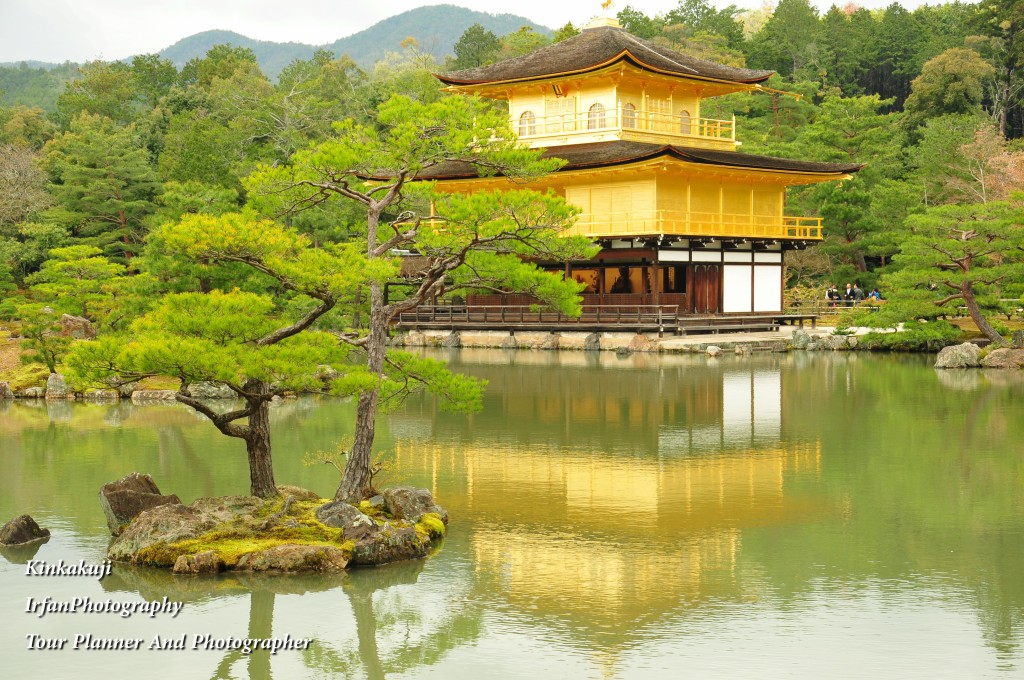 is well Known as Golden Pavillion