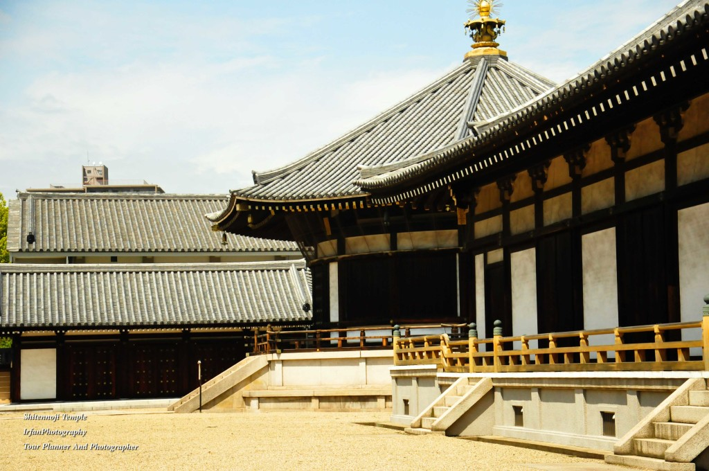 this temple was built around 5 th century by order Prince Shotoku who promoted Buddhism into Japan