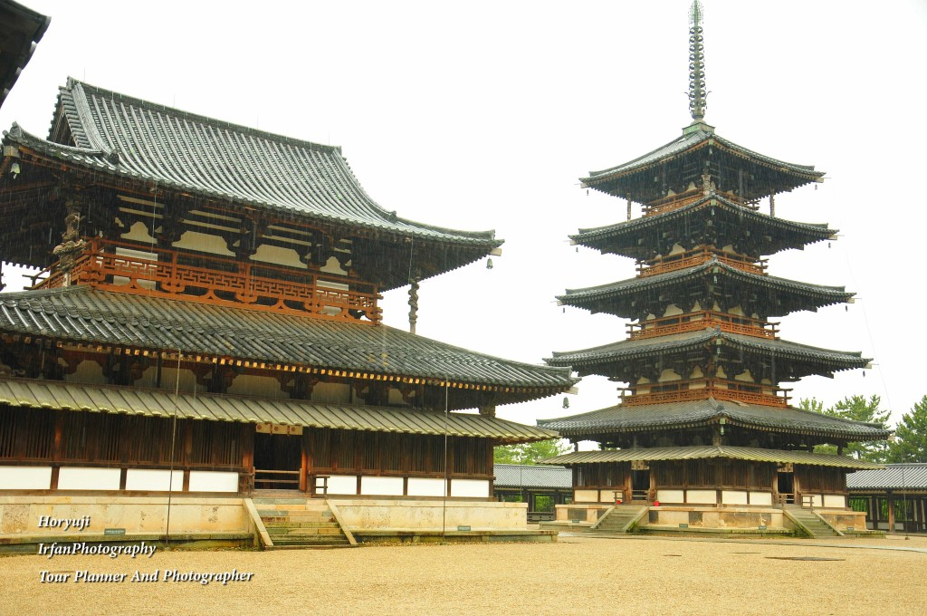 it wooden pagoda is regarded as the oldest wooden building in the world.and listed as UNESCO Heritage sites.