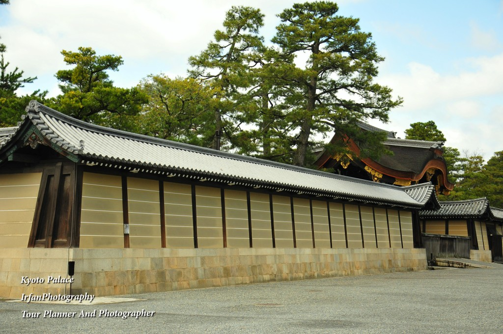 it was used to the residence for Emperor of Japan
