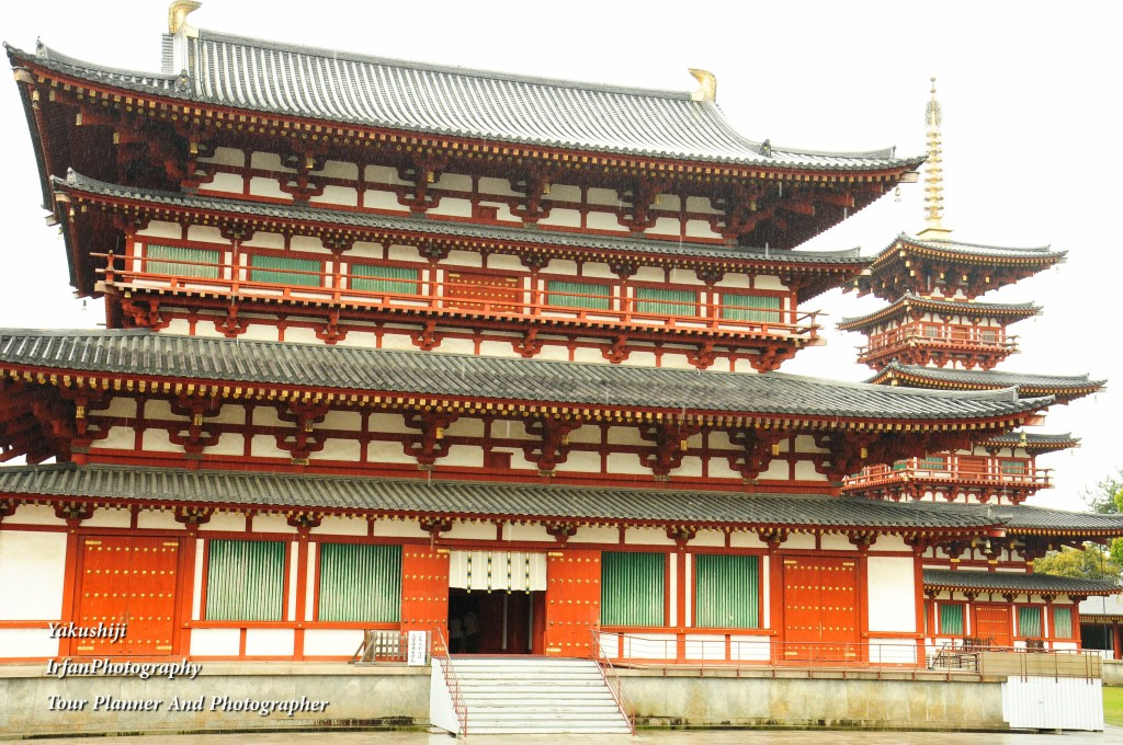 this Temple was built at the end of 7 century by Emperor Tenmu